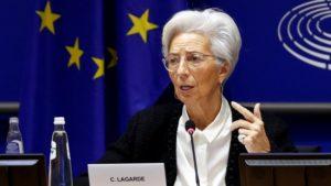 Мрачные перспективы: Кристин Лагард предупреждает, что кризис будет неслыханных  для мирного времени масштабов