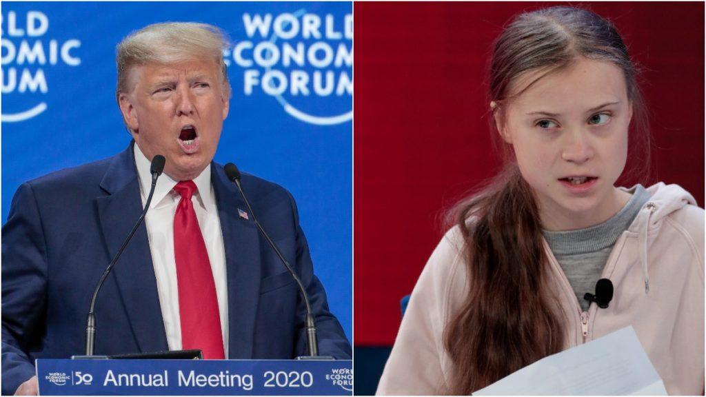 Трамп и Грета