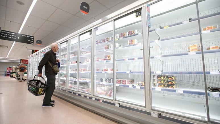 DM: «полки опустели» — кризис с поставками продолжает терзать Великобританию