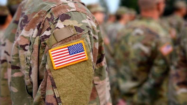 США, солдат