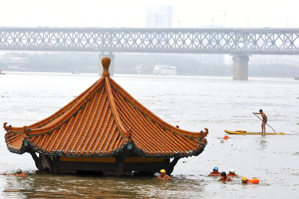 Китай наводнение 3