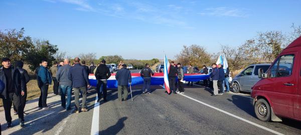 В Гагаузии заблокировали движение со стороны Кишинева