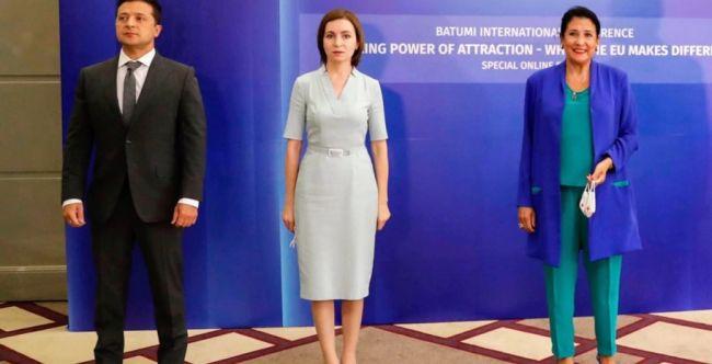 Грузия, Украина, Молдова назвали Россию серьезной угрозой для ЕС  и региона