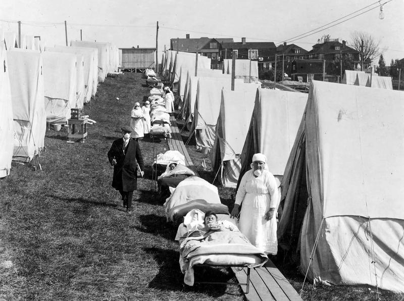 Коронавирус  и солнце: урок пандемии гриппа 1918 года