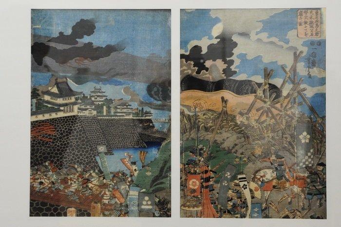 Японские гравюры укиё-э впервые на выставке в Национальном художественном музее Молдовы
