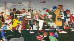 В США демонтируют фреску, посвященную ветеранам Второй мировой войны,  потому что на ней изображено слишком много  белых людей