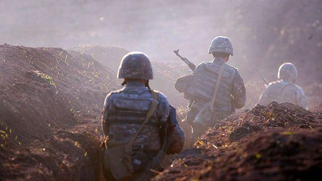 Минобороны Армении сообщило о начале локальных боев на границе с Азербайджаном
