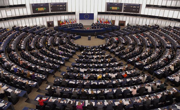Во время карантина здание Европарламента было разграблено
