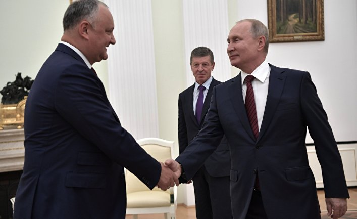 Додон и Путин