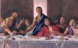 """В британском соборе появится «Тайная вечеря» с черным Иисусом, а """"на следующей неделе он превратится в женщину"""""""