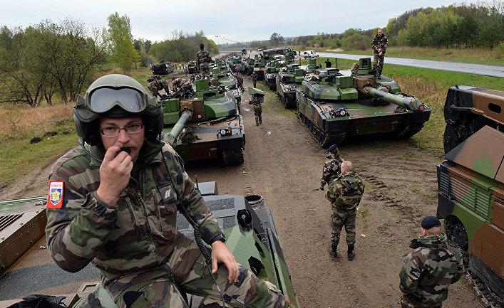 Армия ЕС в действии: Брюссель намерен отправить военных к путинским границами в условиях усиления конфликта с Россией (Daily Express, Великобритания)