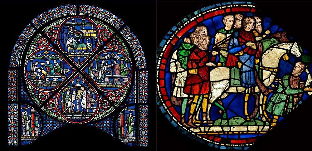 Расшифрованы сюжеты витражей собора в Кентербери