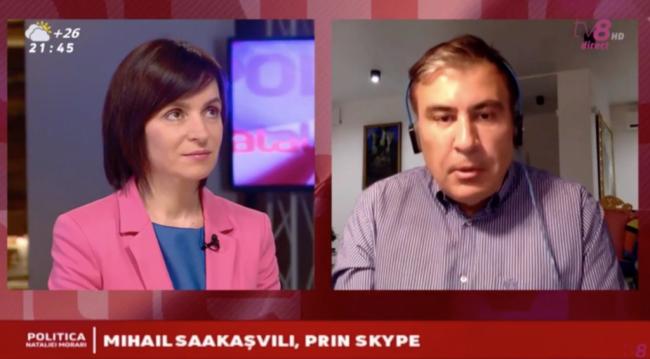 Молдавия не справится с реформами без советов Саакашвили, считает Санду