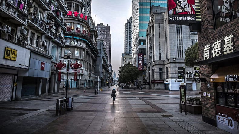 Город заброшен