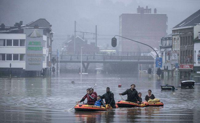 В Бельгии началось новое наводнение