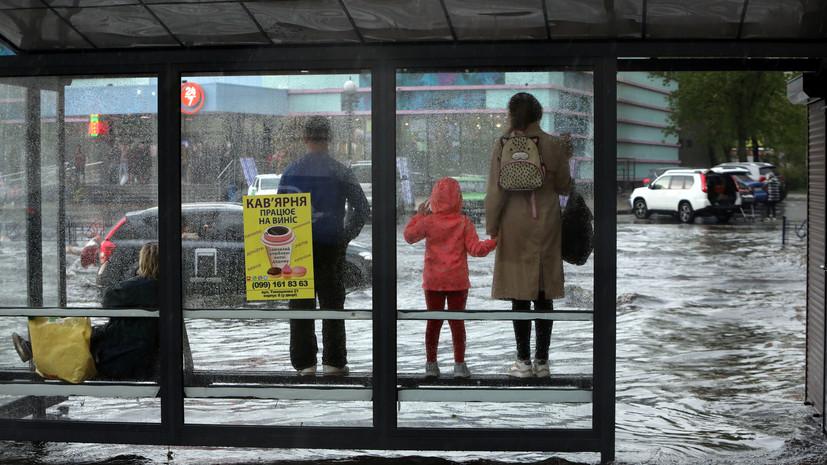 В Прикарпатье из-за сильных ливней погибли три человека