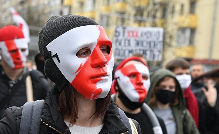 Белоруссия протесты маски