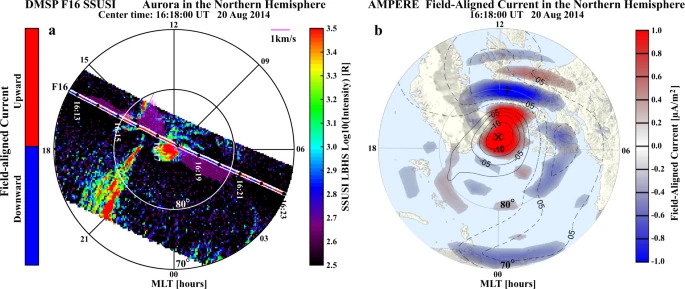 На Земле впервые зафиксирован космический ураган