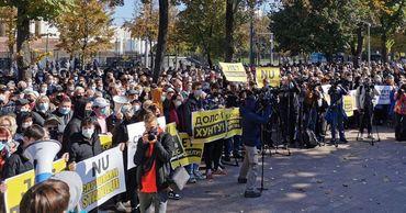 """""""Освободите Стояногло! Нет диктатуре!"""": В Кишиневе прошла акция протеста в защиту арестованного генпрокурора"""