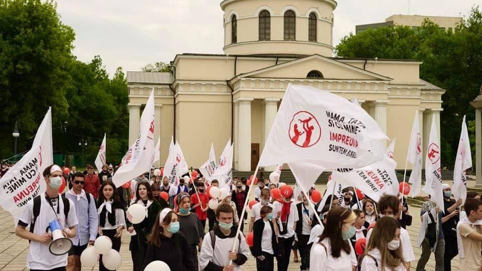 В Кишиневе прошел Марш за традиционные ценности