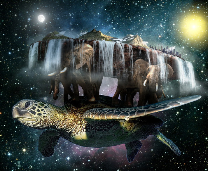 Земля на черепахе