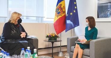 """Санду объявила о цели построить в Молдове """"инклюзивное общество"""""""