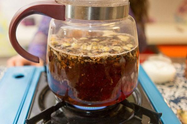 Чай улучшает работу мозга пожилых людей