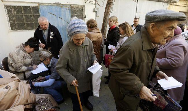 Минсоцполитики Украины предупредило о двукратном сокращении пенсий