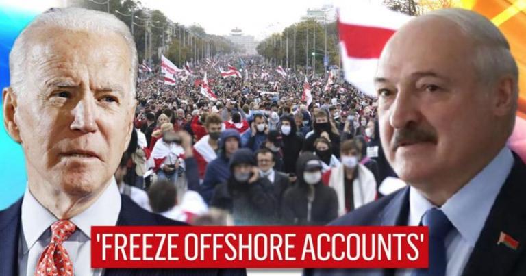 Globalresearch: «Атлантический совет» призывает Байдена добиваться смены режима в Беларуси