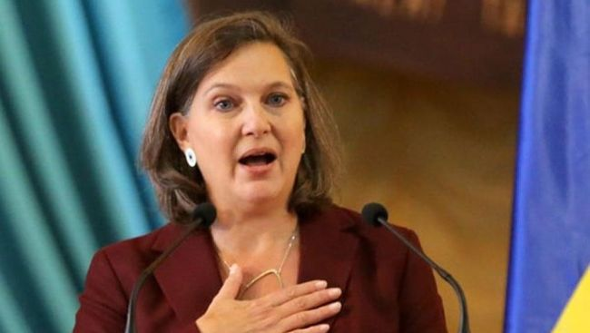 Замглавы Госдепа США Нуланд сопроводит руководителя в поездке в Киев