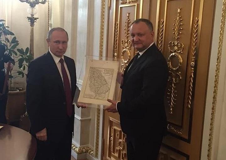 Путин и Додон 2