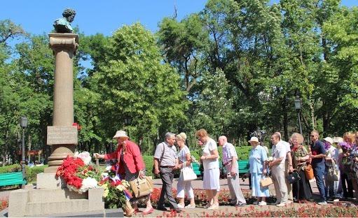 В Кишиневе отмечают день рождения Пушкина и День русского языка
