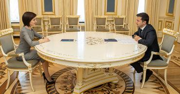 СМИ не будут присутствовать на встрече Зеленского и Санду в Киеве