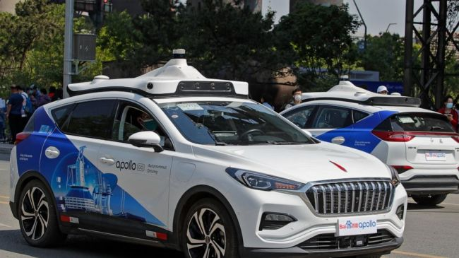 В Пекине заработала первая служба беспилотных такси