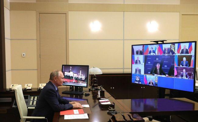 В центре внимания Путина и  Совбеза России ситуация, которая складывается в СНГ