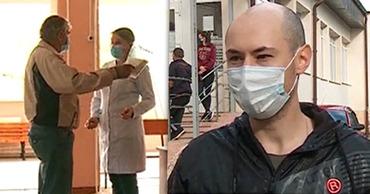 В молдавских Страшенах пациентам отказано в доступе в поликлинику без прививки от Ковид-19