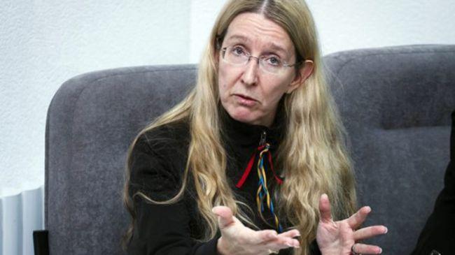 Ульяна Супрун агитирует за голодовки и онанизм в школах Украины