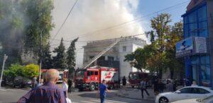 Власти Молдавии восстановят сгоревшую филармонию: Это наш долг