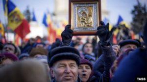 Молдова-протесты