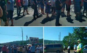 В Приднестровье стихийный митинг — люди требуют открыть границу с Молдавией