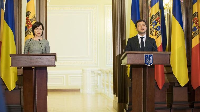 Договорятся ли Санду и Зеленский по Приднестровью?