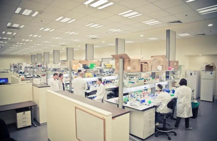 Израиль лаборатория