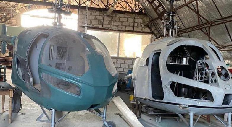 В Молдове обнаружен подпольный вертолетный завод