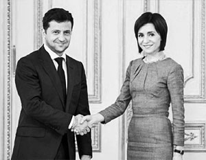 Стратегическое партнерство Молдавии и Украины грозит России новым кризисом