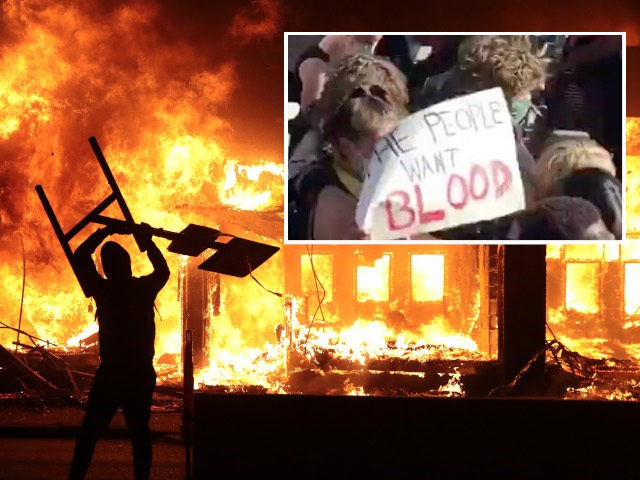 """""""Народ хочет крови"""": ожесточенные столкновения продолжаются у Белого дома"""