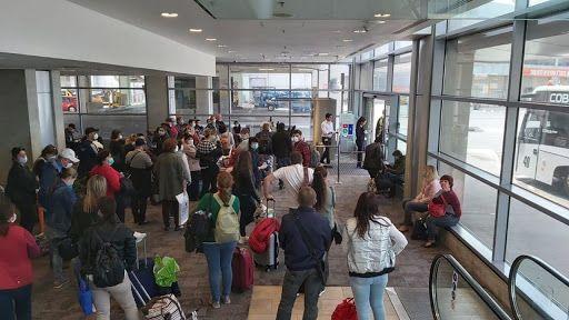 Аэропорт мигранты
