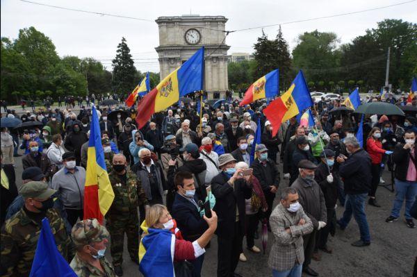 Кто стоял за митингом ветеранов приднестровской войны а Кишиневе?