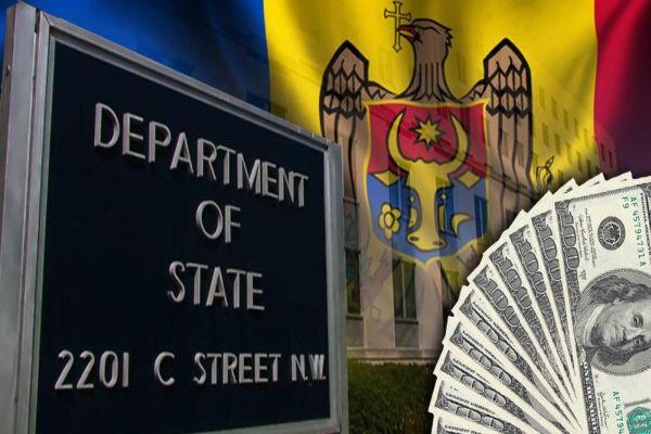 Госдеп США профинансирует «евро-атлантические устремления» Молдовы