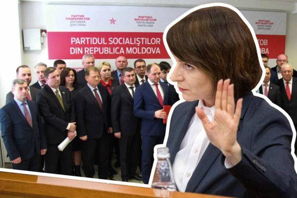 Началось открытое противостояние между президентом и парламентом Молдовы