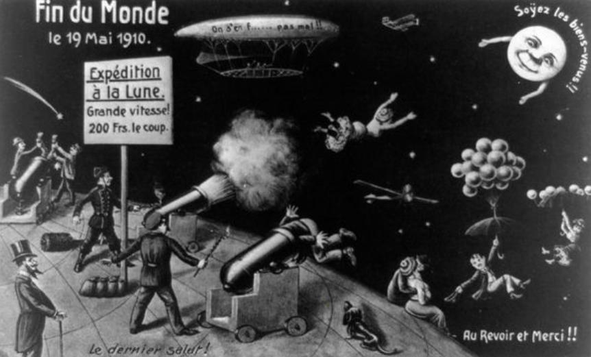 Как человечество готовилось к концу света в 1910 году